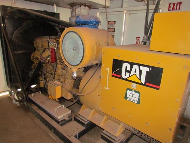 (1 of 2) CAT SR4B 545KW Gen Sets w/Low Hours – DY2 YD5