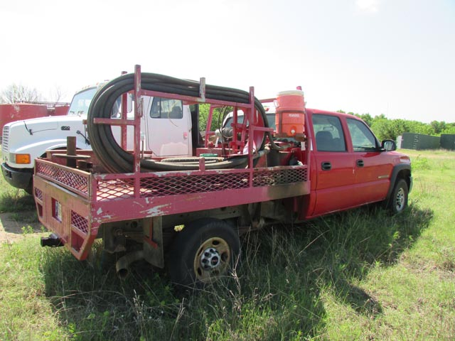 '07 GMC 2500 Tong Truck – DY3 YD1