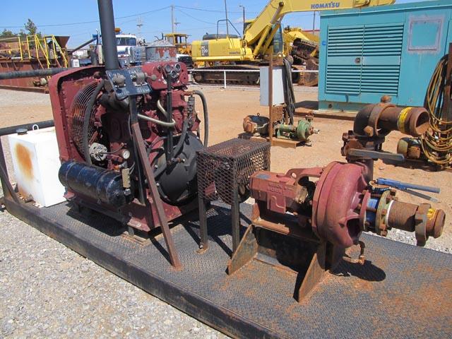 MISSION 5x4 Cent Pump p/b DETROIT 4-71 – DY3 YD2