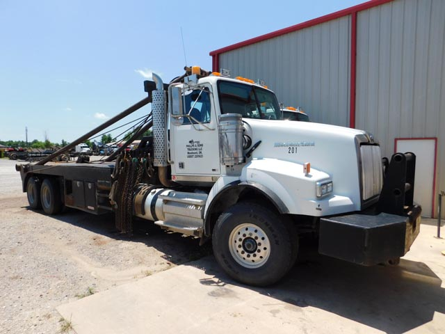 '12 W-S 4900 T/A Rig-Up Pole Truck – DY2 YD11