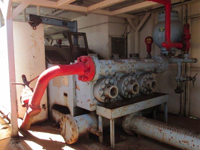 1600HP Triplex Pump  – DY1 YD1