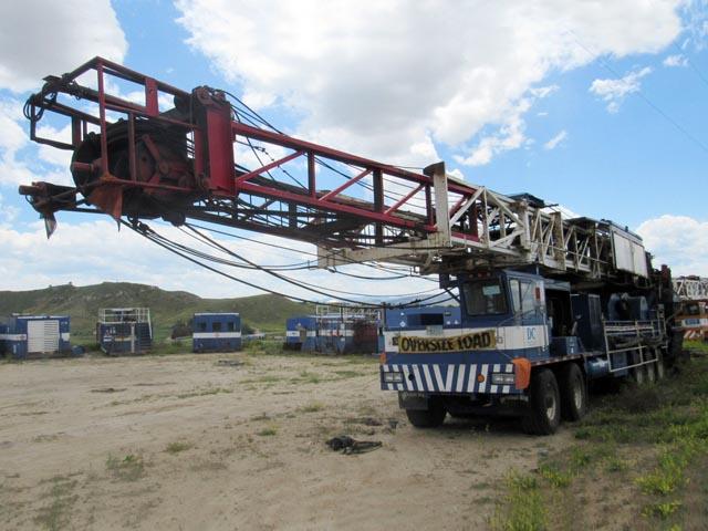 GLOBAL RMI 600 D/D Well Service Rig – DY2 YD7