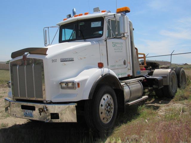 '89 KENWORTH T-800  Winch Truck – DY2 YD3