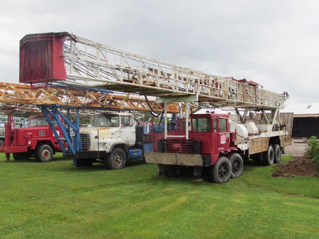 G.DENVER 2000 Water Well Rig – YD1