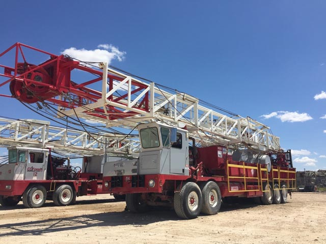 Well Service Rigs – YD1