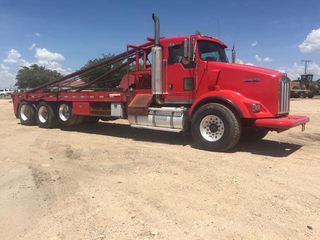 2003 KENWORTH T800 3-Axle Gin Truck – YD1