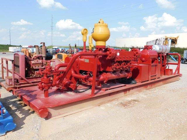 NAT'L OILWELL 550T Triplex p/b DET S-60 – DY2 YD1
