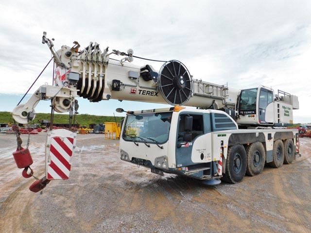 '13 TEREX AC100/4L 120-Ton All-Terrain Crane – DY1 YD1