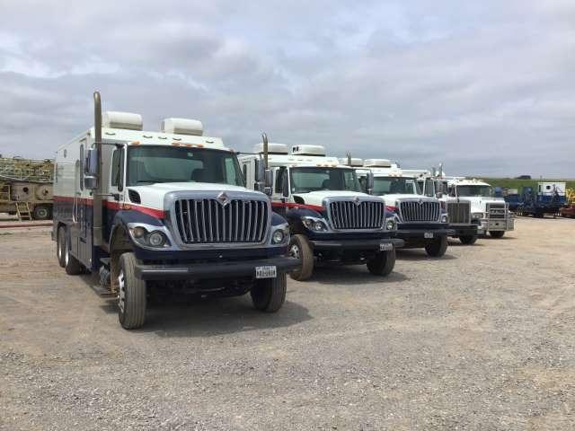 5 of 8-Wireline Trucks (Custom)