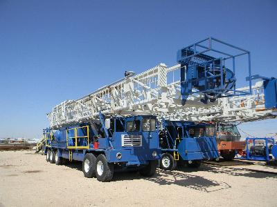 COOPER LTO-350 Well Service Rig