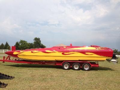 '03 SPECTRE 'Poker Run Special' 36' Catamaran Power Boat