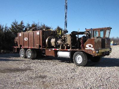 Drillmobile - Rebuilt & Ready To Go!