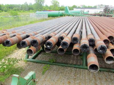 """11,408' of 4"""" R-2 Drill Pipe"""