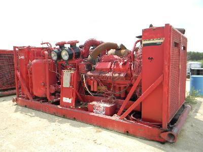 I.RAND XHP 1250-S-CAT Air Compressor p/b CAT 3412 – DY1 YD3