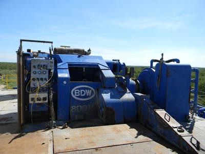 RIG #101 BDW 800MI – DY1 YD5