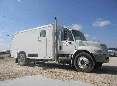 INT'L 4300 Wireline Truck – DY2 YD1