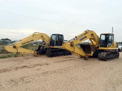 KOMATSU & NEW HOLLAND Excavators – DY2 YD1