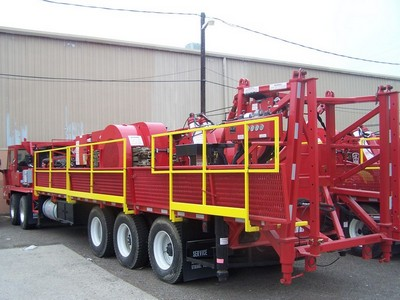 (1 of 3) UNUSED 2013 SERVICE KING SK-575 Well Service Rigs