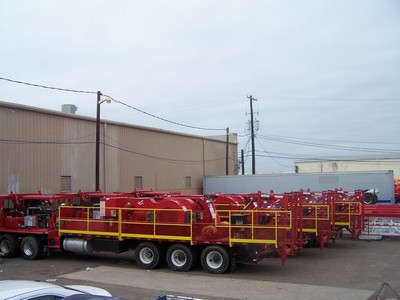 (3) UNUSED 2013 SERVICE KING SK-575 Well Service Rigs