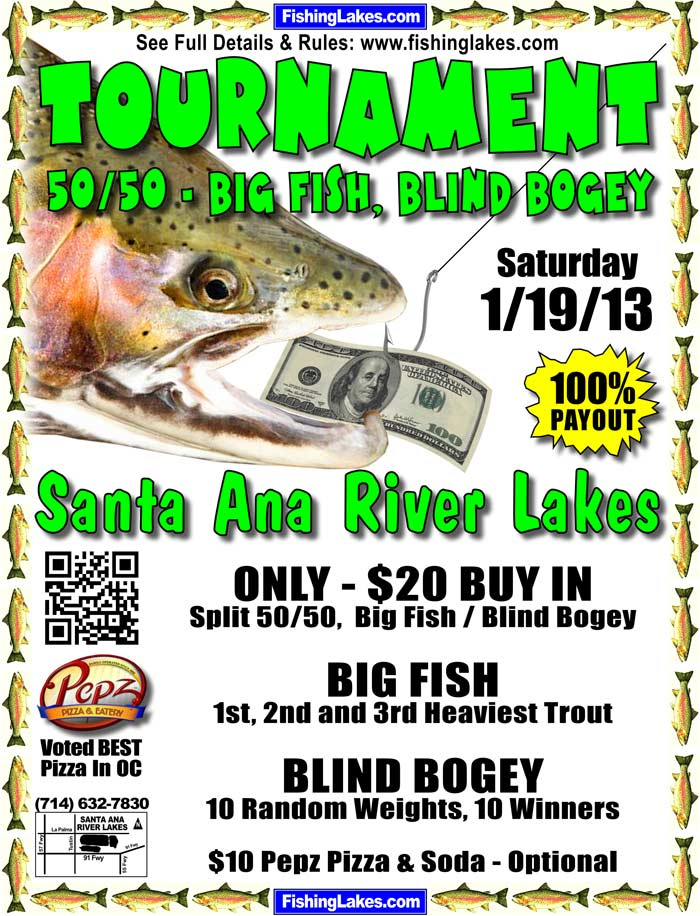 FISHING TOURNAMENT - SARL 1-19-13