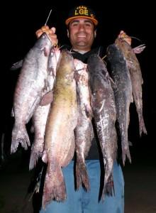 Lake Guide Eddie - SARL catfish