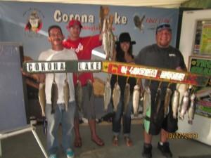 corona fish report 10-30-13