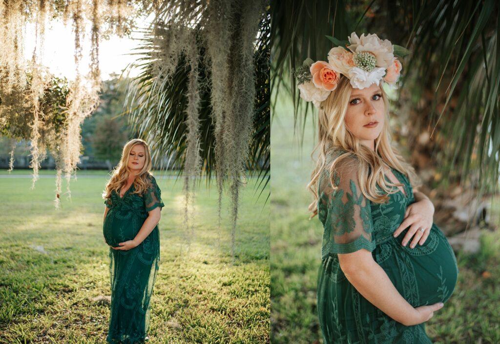 Maternity portraits in the park | Stephanie Acar Portraits