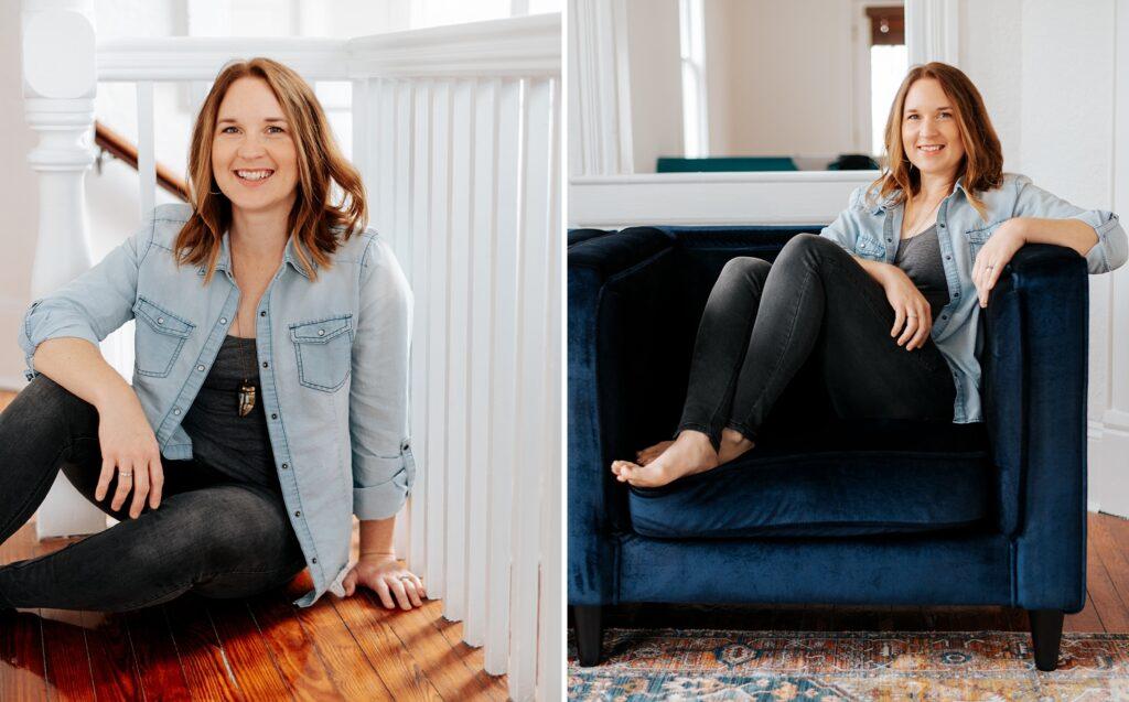 Indoor personal branding photos | Stephanie Acar Portraits