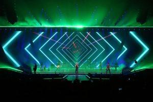 Men on Fire! Enrique Iglesias and Pitbull Miami concert
