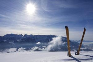 Skiing In Summer!
