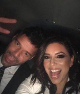 "Eva Longoria y Ricky Martin presentaron la gala de ""The Global Gift Foundation"" en Miami"