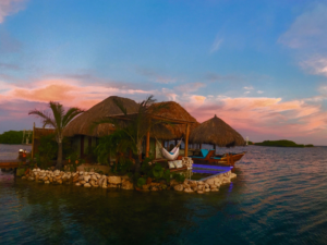 Overwater Bungalows in Aruba
