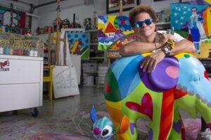 Romero Britto lanza libro descargable para colorear en medio de medidas por COVID19