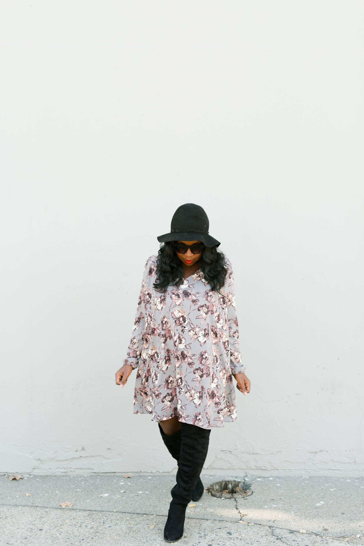 shift-dress- fall hats