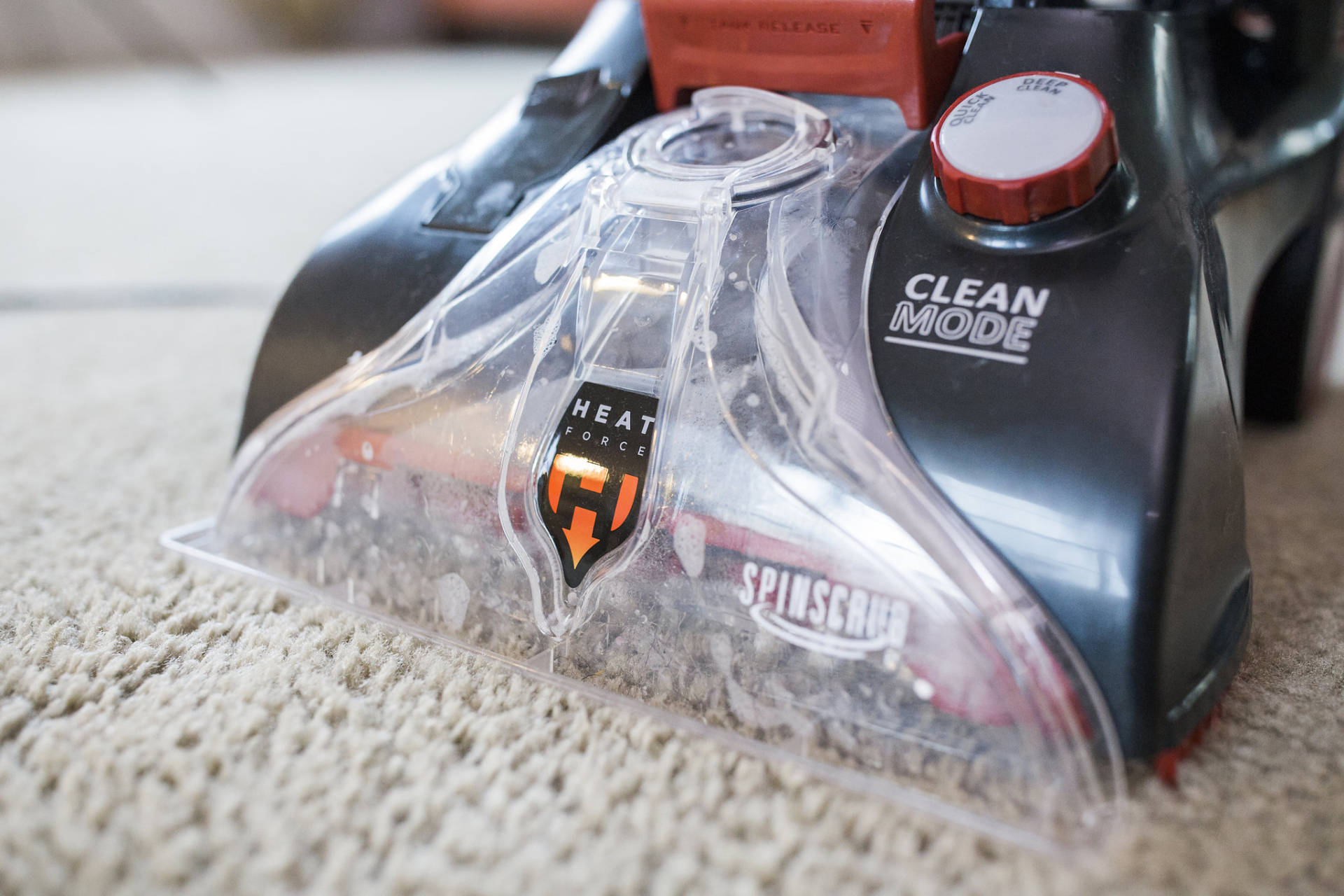 Wall to wall Carpet Cleaning With Power Scrub Elite Pet Plus by Home Depot! We love Charlie but he is messy! This has been the best deep cleaning carpet tool for us to date!