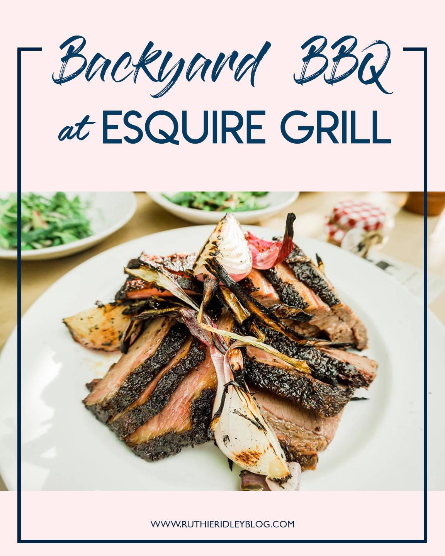 Chef Jon's Backyard Barbecue- Esquire Grill