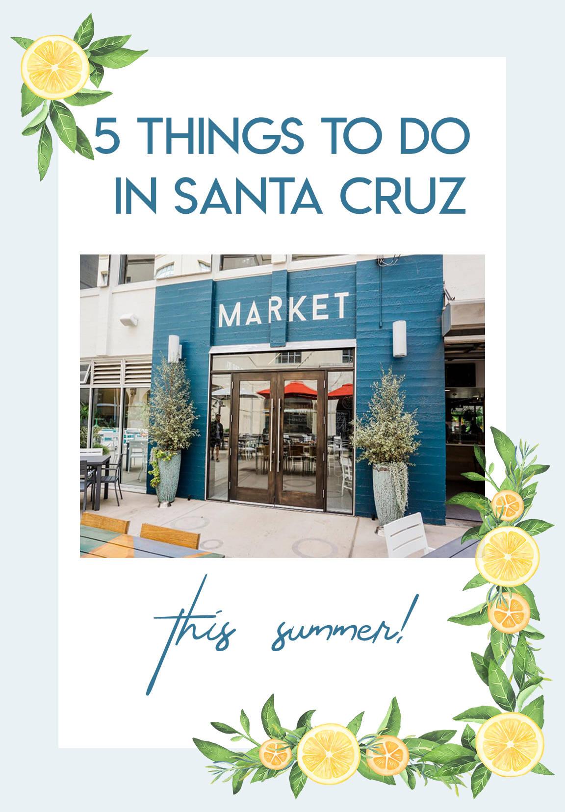5 Things To Do In Santa Cruz
