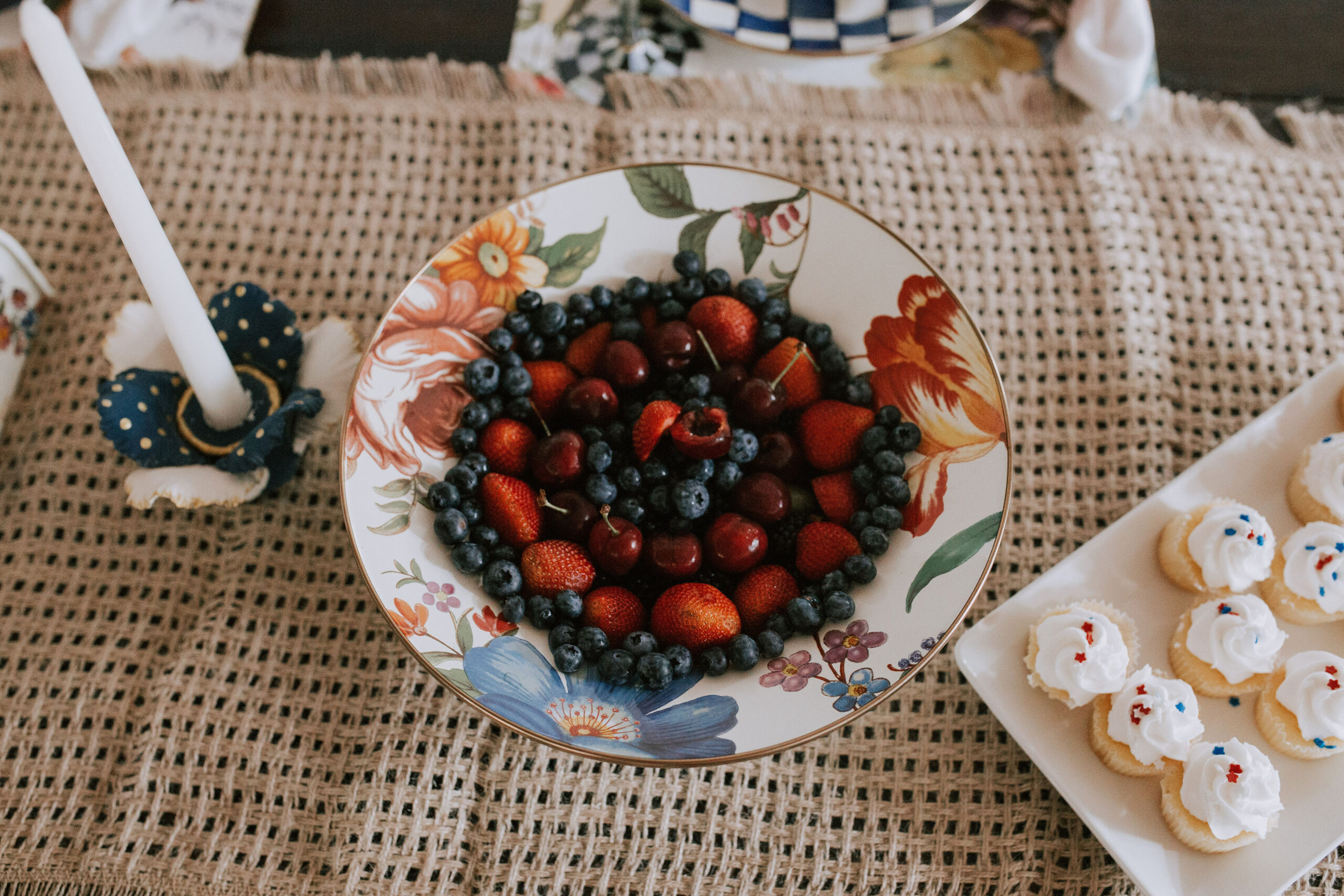Ruthie Ridley Blog Summer Tablescape With Mackenzie-Childs