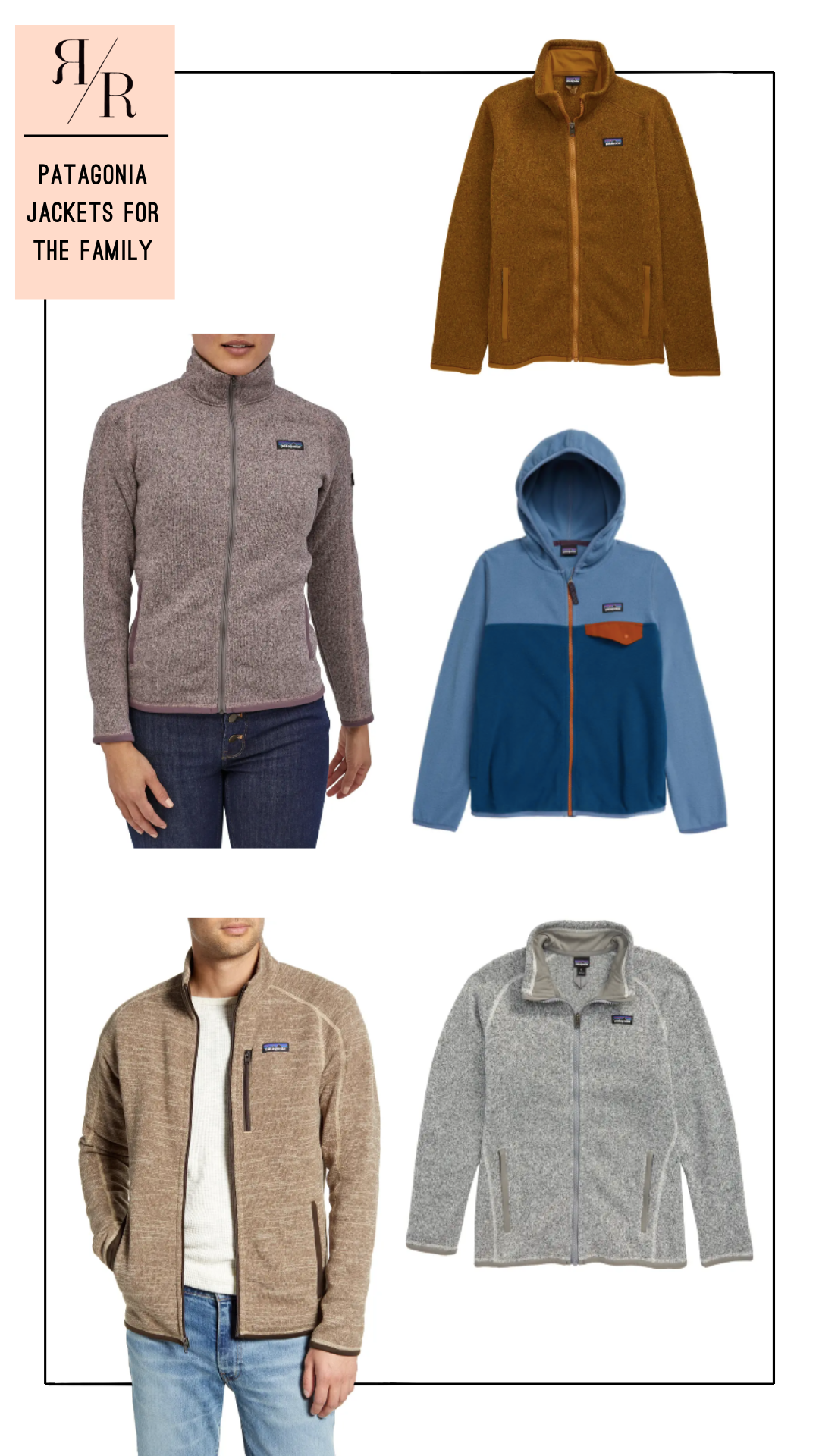 Ruthie Ridley Blog Patagonia Jackets For The Family At Nordstrom