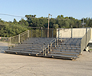 10 row 30 ft towable bleachers