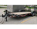 12k lbs 20ft flatbed trailer for rent