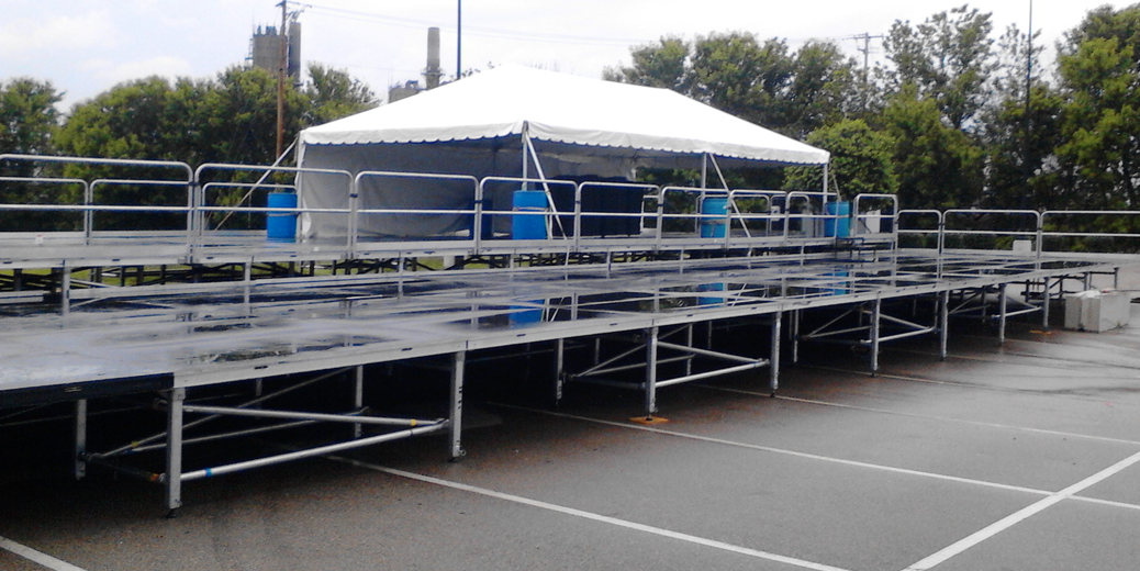 Any Size Stage Rental Small to Large