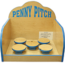 Penny Pitch carnival game rental