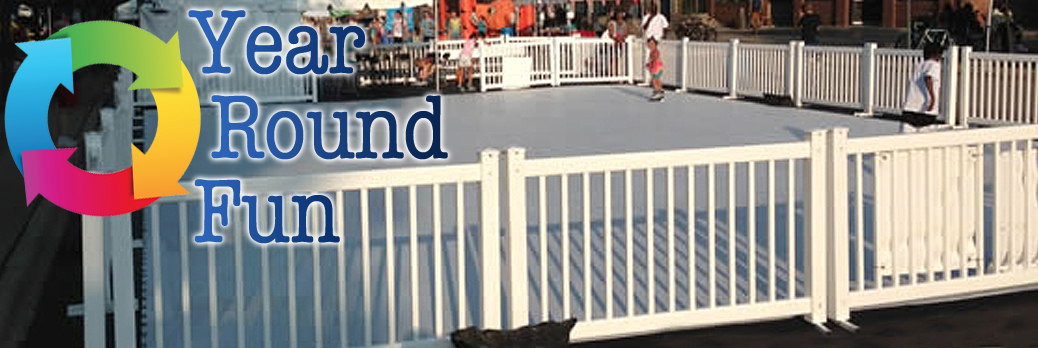 """Synthetic Ice Skating Rink Rental """"Year Round Fun"""""""