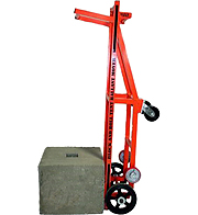Block and Roll Tent Ballast Mover