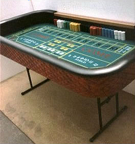 Rent our Craps Table for your next casino themed party or event.