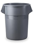 Rent our 32 Gallon Rubbermaid® Round Brute Container