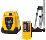 laser level with tripod and receiver