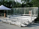 "5 Row ""Quick Seat"" bleachers"