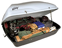 Rent our auto rooftop cargo carrier.